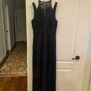London times lace dress from Dillard's (navy)